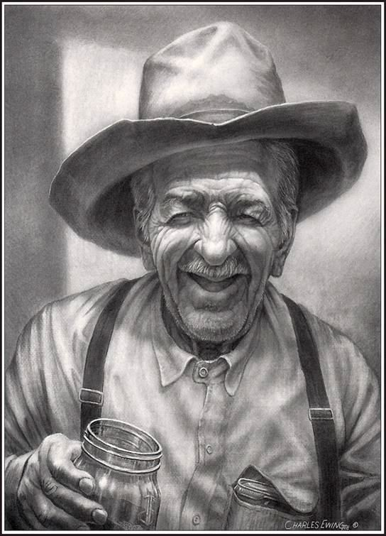 Happy Old Cowboy